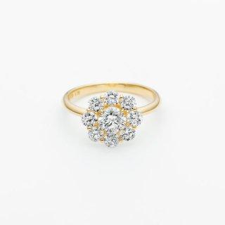 S007 ラボグロウンダイヤモンド<br>リング / ゴールド / 中石 0.50カラット