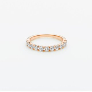 E001 ラボグロウンダイヤモンド<br>リング / ピンクゴールド / total0.70カラット