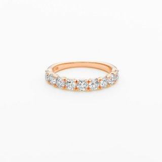 E001 ラボグロウンダイヤモンド<br>リング / ピンクゴールド / total1.00カラット