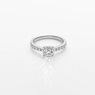 L004 ラボグロウンダイヤモンド<br>リング / プラチナ/ 1.00カラット