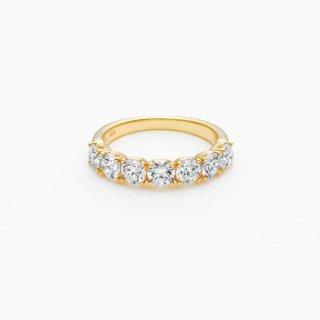 E001 ラボグロウンダイヤモンド<br>リング / ゴールド / total1.50カラット