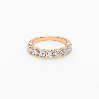 E001 ラボグロウンダイヤモンド<br>リング / ピンクゴールド / total1.50カラット