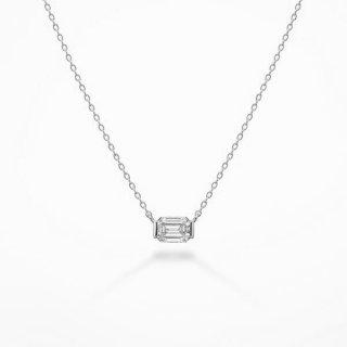 S002 ラボグロウンダイヤモンド<br>ネックレス / プラチナ/ 0.50カラット