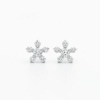 H019 ラボグロウンダイヤモンド<br>ピアス / プラチナ / 0.16カラット*2