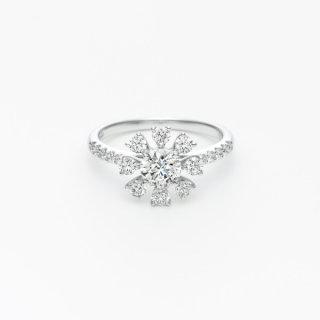 H022 ラボグロウンダイヤモンド<br>リング / プラチナ / 中石 0.50カラット