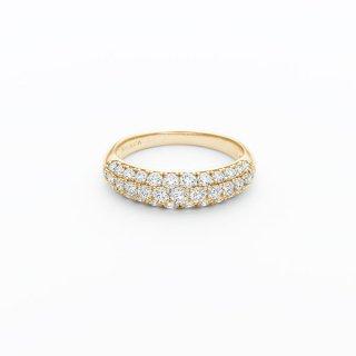H025 ラボグロウンダイヤモンド<br>リング / ゴールド / total1.00カラット