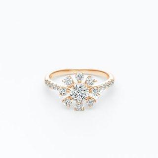 H022 ラボグロウンダイヤモンド<br>リング / ゴールド/ 中石 0.50カラット