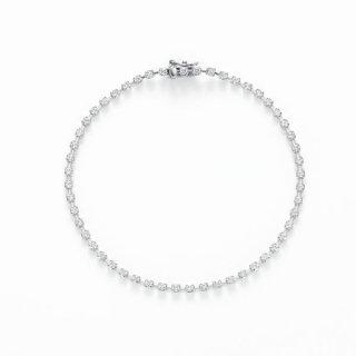 H031 ラボグロウンダイヤモンド<br>ブレスレット(差し込み金具) / プラチナ / total 1.00カラット