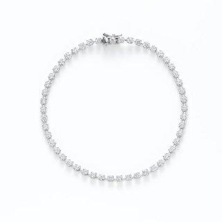 H031 ラボグロウンダイヤモンド<br>ブレスレット(差し込み金具) / プラチナ / total 2.00カラット
