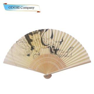 扇子 男性用 日本製 夏扇子 紳士用扇子 男物扇子 蜻蛉 唐木中彫 7.5寸 35間