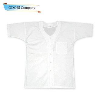 半袖 鯉口シャツ ダボシャツ 白 祭 よさこい ソーラン節 当店限定品