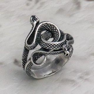 ダブル・スネーク・リング : Double Snake Ring