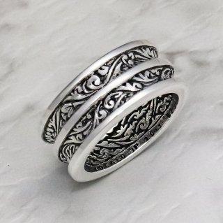 ダブル・アイビー・リング : Double Ivy Ring