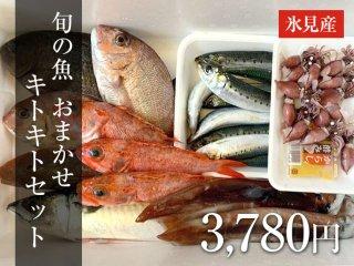 旬の魚 おまかせセット 3,780円
