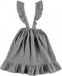 <img class='new_mark_img1' src='https://img.shop-pro.jp/img/new/icons23.gif' style='border:none;display:inline;margin:0px;padding:0px;width:auto;' />30%OFF/TOCOTO VINTAGE Check Skirt with Suspenders