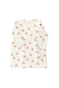 LAST ONE!!30%OFF/tiny cottons market Cherries Fleece Dress