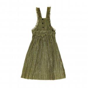 piupiuchick long dress with frills