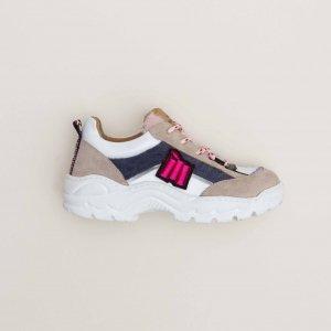 MAISON MANGOSTAN MUSA WHITE sneakers