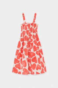 30%OFF/BOBO CHOSES All Over Hearts Smoked Dress