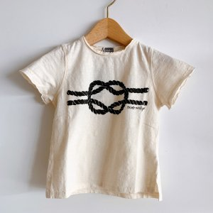 30%OFF/LAST ONE!!TOCOTO VINTAGE  Rope Knot T-shirt OFFWHITE