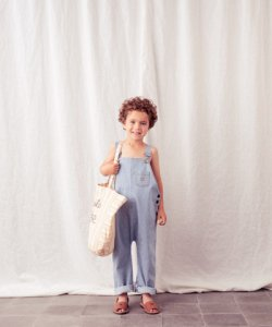 30%OFF/LAST ONE!!TOCOTO VINTAGE Striped Dungaree Jumpsuits