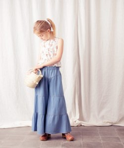 30%OFF/TOCOTO VINTAGE  Flowers Tops