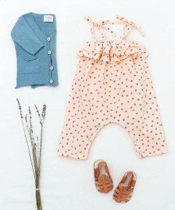 30%OFF/LASTONE!!TOCOTO VINTAGE  Strawberry Jumpsuit BABY
