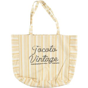 20%OFF/TOCOTO VINTAGE Stripe Bag MUSTARD