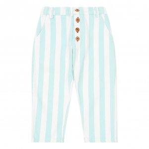 30%OFF/piupiuchick  light blue stripes trousers