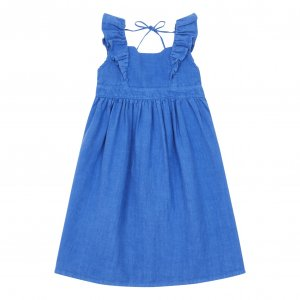 30%OFF/piupiuchick Long dress with frills on straps