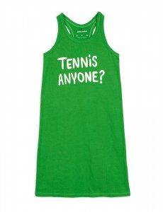 20%OFF/LAST ONE!!mini rodini TENNIS ANYONE SP TANK DRESS