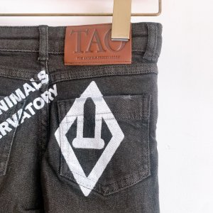 30%OFF/The Animals Observatory DENIM MOSQUIT KIDS TROUSERS