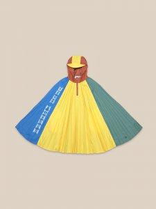 30%OFF/BOBO CHOSES Color Block Rain Poncho