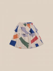 <img class='new_mark_img1' src='https://img.shop-pro.jp/img/new/icons56.gif' style='border:none;display:inline;margin:0px;padding:0px;width:auto;' />30%OFF/BOBO CHOSES Shadows Woven Skirt