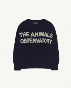 30%OFF/The Animals Observatory BULL KIDS SWEATER BLUE ANIMALS