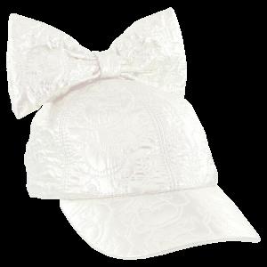 CAROLINE BOSMANS   CAP WHITE