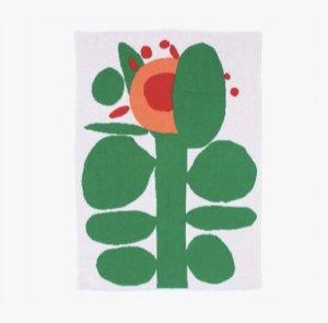 SLOWDOWN STUDIO Flower Mini Blanket