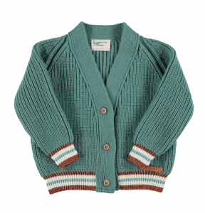 30%OFF/piupiuchick  Knitted v-neck jacket emerald