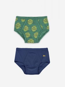 BOBO CHOSES UNDERWEAR SET CAT BOY