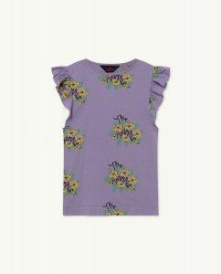 The Animals Observatory FLY KIDS DRESS Purple Flowers
