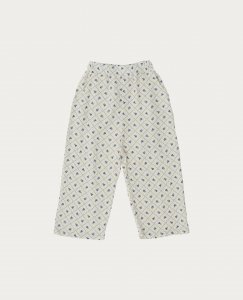 THE CAMPAMENTO CHECKS AND FLOWERS TROUSERS