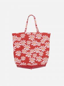 LAST ONE!!BOBO CHOSES Daisies packable shopping bag