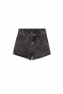 maed for mini Black Bull Shorts
