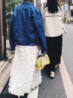 【即納】フェザリングスカート/ホワイト