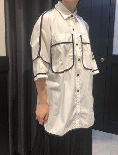 【予約】パイピングオーバーシャツ