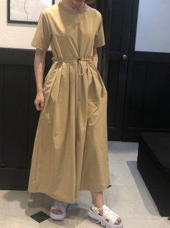 【予約】ドロストジャンプスーツ/ベージュ