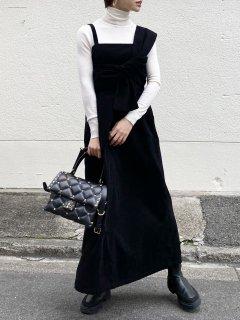 【即納】コーデュロイツイストジャンパースカート