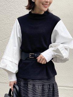 【即納】リブドッキングシャツ