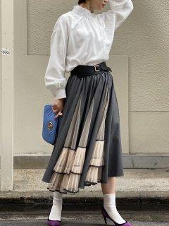 【即納】チュールフレアジョイントスカート