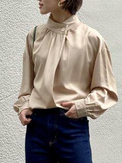 【即納】ボタンスタンドエレガントシャツ